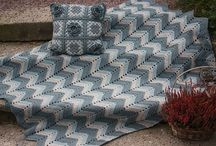 Blankets / Baby blankets and throws I've crocheted and knitted over the years.