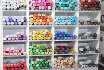 Rotuladores para Scrap / Rotus copyy tintas distrees
