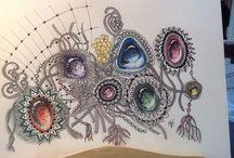 Zentangle Gems / Zentangle Gems