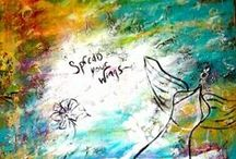 Inspirational Art By M. Francis / Inspirational Art by M. Francis www.mfrancisgallery.com