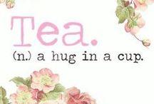 Tea time! / Heerlijk genieten van een kopje thee!