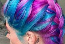 Colourful hair I Like