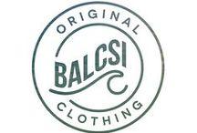 Original Balcsi Clothing SS14 / Clothing items of the hungarian startup fashion brand, Balcsi Original.  http://balcsioriginal.hu/