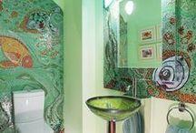 Чистота - залог здоровья / Оформление и ремонт ванной комнаты