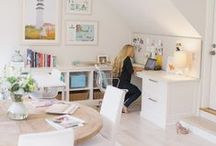 Studio Workspace / Inspirational spaces for work + creativity (which should always go hand-in-hand)