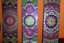 mandala / mandala festés, mandala ékszerek