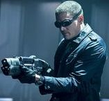 Captain Cold aka Leonard (Leo) Snart / Captain Cold played by Wentworth Miller Winner of a Saturn Award  Appears in The Flash and DC's Legends of Tomorrow
