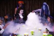 halloween / Dry ice spooky scary fog effects for Halloween parties