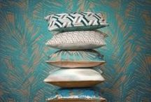 Pillow Fight, Anyone? / Cushions accentuate, punctuate and decorate any room, inside and outside the house