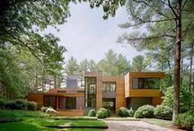 ARCHITECTURE AND EXTERIORS / Idea's for colour and facades.