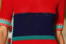 AUTUMN/SPRING / Multicolour stripes, Stars, knitted tops, knitted dresses...