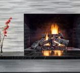 Fireplace Designs / The fireplace has traditionally always been the focal point of a room, so why not enhance it with the raw beauty of natural stone. It's durability and strength make it the ideal cladding for a chimney breast or fireplace to create a true talking point.