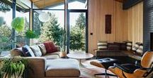 OPEN PLAN HOME / Configuring open plan spaces within the home and colour and texture co-ordination