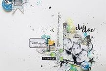Inspiration scrap / pages de scrap inspirantes