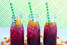 Wedding Cocktails / fun, pretty and color coordinated with your wedding colors