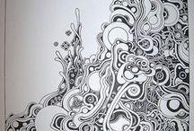 Zentangles & Doodles / by Eileen Barker