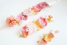 Flower Crowns / Headband and hairbands that inspire my everyday designing. Love it!