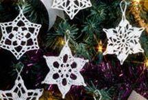 Crochet/Snowflakes