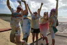 The Colour Run / The colour run is a 5km run focusing more on having a fun day outdoors with your friends and family than on speed and competition. Held in Cairns in July, come join us this year!