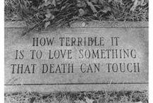 Cemetery Remembrances / Unique cemetery sculptures and epitaphs. / by Dawn James