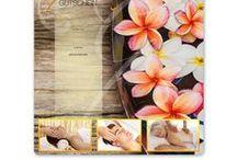 Massage und Wellness-Gutscheine / Multicolor-Geschenkgutscheine mit ansprechenden Massage- und Wellnessmotiven für Unternehmen erhältlich auf www.geschenkgutschein.com