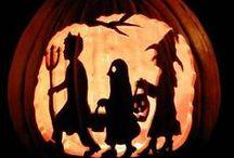 Halloween hullutuksia / Koristeita yms.