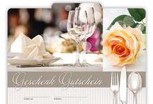 Gastronomie Geschenkgutscheine / Gutscheine für die Gastronomie, Restaurant, Cafe, Pizzeria ... ... Geschenkgutscheine sind immer eine gute Geschäftsidee