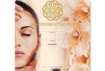 Kosmetik-Geschenkgutscheine / Gutscheine für die Kosmetikbranche bzw. Beauty