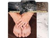 Fußpflege Geschenkgutscheine / Gutscheine für Fußpflege ... Geschenkgutscheine sind immer eine gute Geschäftsidee