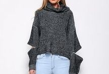 Fall Fashion / Outerwear to cozy sweaters and everything else you could want for one of our favourite seasons for fashion!