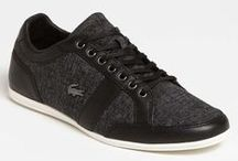 Sneaking them out / If I can sponsored by Lacoste. I would die a happy man