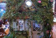 Fairy Garden / Inspiration for fairy gardens