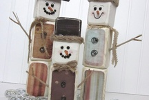 Decor - Christmas / Winter / Things for the House For Christmas and Winter DIY and crafts to make. Gifts etc.