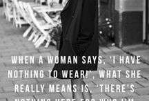 Fashion thoughts / by Kate Forsyth