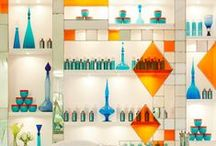 Beautiful Displays / A few great and unique ways to display retail products in your salon!