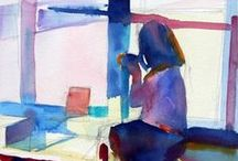 Watercolors / I am a watercolorist.  So here I'm pinning my work, work of fellow watercolorists, and the ones that came before, who influence me.