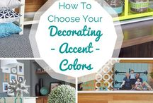 Home Decor Accents Inspiration / by Sherry Smith