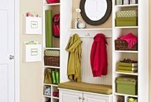 Mudroom & Front Door Organization  / by Sherry Smith