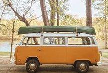 VW Love / Volkswagen. VW. Westfalia. Transporter. Beetle. Bug. On the road.
