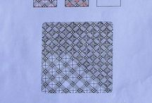 Zentangle Patterns / Step outs for Zentangle patterns