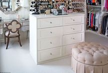 Bedroom Converted into Walk-In Closet & Dressing Room / by Sherry Smith
