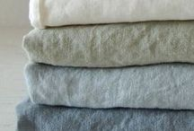 Linen / Linnen clothing and home accesories, because linen is so sustainable and raw.