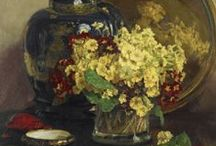 garden and still life flower paintings / garden and still life flower paintings