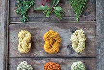 Plantdyeing / Diy dyeing wool