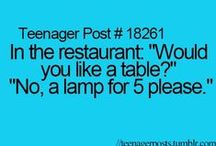 Funny / Clean humor: relatable posts, teenager posts, and anything I find funny. ;) / by Annalise & Kaitlyn Metzger