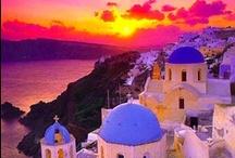 'La Grèce (Greece)' / by Catherine Mahéo