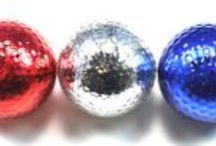 Metallic Golf Balls / Bling your swing!