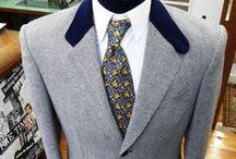 chaqueta de tweed / Ojo de perdiz ingles