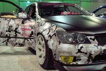 Kundbilder / Bilder på bilar lackerade med våra färger.