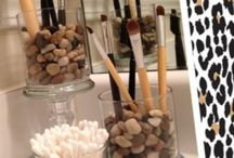 Makeup and nail ideas and organization / These are very good ideas!!!♡